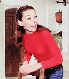 Hepburn & Hepburn - Audrey Hepburn in Two For The Road (1967)