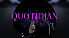 QUOTIDIAN -   EX AMERICAN MUSIC VIDEO https://www.youtube.com/watch?v=mwkMeFuFUP4