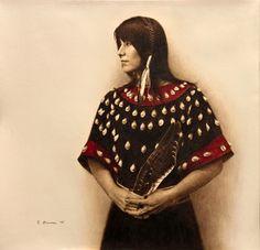 Zandra Apple Sioux  by James Bama kp