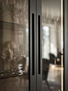 Kitchen Closeup | Exploring Stockholm-based Designers Kitchens by Paul Rosedale House, Mim Design, Glass Showcase, Stone Sink, Bespoke Kitchens, Splashback, Indoor Outdoor Living, Kitchen Cabinetry, Interior Design Studio
