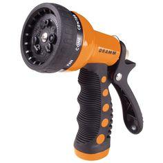 Dramm 80-12702 9 Pattern Orange Revolver Spray Gun Nozzle (Nozzles) (Plastic)