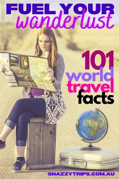 101 Gobsmacking World Travel Facts - After searching far and wide I've collated a plethora of random world trivia facts I'm going to share with you. Here you'll find all sorts of interesting information on different countries, people, languages, food, wildlife, flying, tourism and so much more. #worldtravel #travelfacts #worldfacts #worldtrivia #traveltrivia #snazzytrips #funtrivia Travel Essentials, Travel Tips, Travel Ideas, Travel Destinations, Genting Highlands, Pyramids Of Giza, Visit France, Papua New Guinea, Countries Of The World