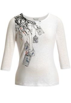 Petite Bird On a Wire Tree Tee - Christopher & Banks