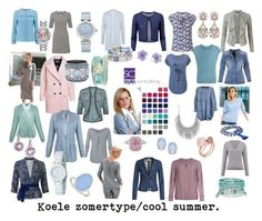Image result for cool summer palette clothing