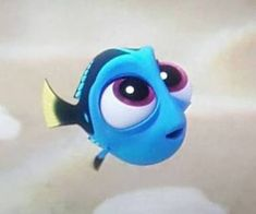 I loved finding dory so much! Baby Dory is so freakin cute Disney Pixar, Walt Disney, Disney And Dreamworks, Disney Cartoons, Disney Animation, Disney Magic, Baby Disney Characters, Disney Posters, Cartoon Characters