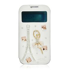 Eiffeltoren Spot Zirkoon Leather Case voor Samsung Galaxy S4 I9500 – EUR € 11.95