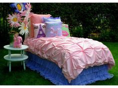 Poodle Pink | Sweet Peaches Bedding