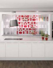 Tapet i køkken