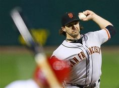 Giants' Barry Zito - NLCS Game 5.