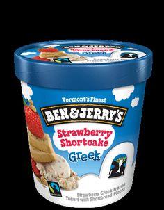 Strawberry Greek Frozen Yogurt with Shortbread Pieces Candy Recipes, Yummy Recipes, Snack Recipes, Yummy Food, Snacks, Ice Cream Flavors List, Ice Cream Recipes, Chocolate Sugar Cookie Recipe, Sugar Cookies Recipe