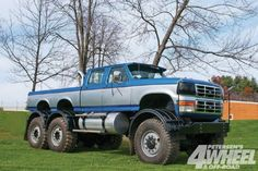 custom-1995-ford-f-350-mack-truck (660×440)