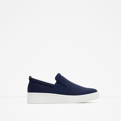 Image 1 of FLAT SNEAKER from Zara