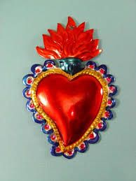 mexican heart - I like the color around it