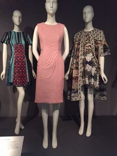 "Currently on display at the Museum of FIT is the ""Black Fashion Designers"" exhibition.  Just in time for Black history month the exhibition showcases both African and African American designers. Fashion ranging from the 1950's to the present is on view, along with the history of challenges African American and African designers have faced within the … … Continue reading →"