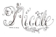 Image result for nicole name rings
