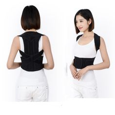 comfortable adjust back posture corrector , have good effect on waist protection and reduce upper back pain. we have them at stock , if you want to order , please contact me , nancy, skype:nancy_525,whatsapp:8615931137762,email:sales1@rundemedical.com Back Corrector, Back Posture Corrector, Upper Back Pain, Basic Tank Top, Tank Tops, Women, Fashion, Moda, Halter Tops