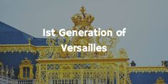 Learn about the Royal Family of Versailles. Part 2 of the Versailles series. Versailles, Broadway Shows, History, Blog, Historia, Blogging