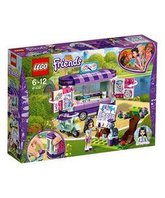 Love this Lego® Friends Emma's Art Stand on #zulily! #zulilyfinds