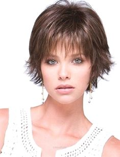 Elegant Short Fine Layered Hairstyles for Thin Fine Hair - Hair Styles Fine Hair Styles For Women, Hair Styles 2016, Medium Hair Styles, Short Hair Styles, Short Hairstyles Fine, Round Face Haircuts, Haircuts For Fine Hair, Short Haircuts, Layered Hairstyles