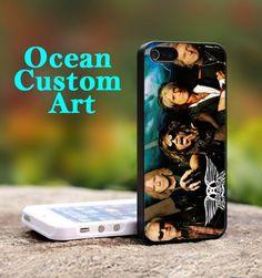 AEROSMITH Rock Band - Print on Hard Cover iPhone 4/4S Black Case