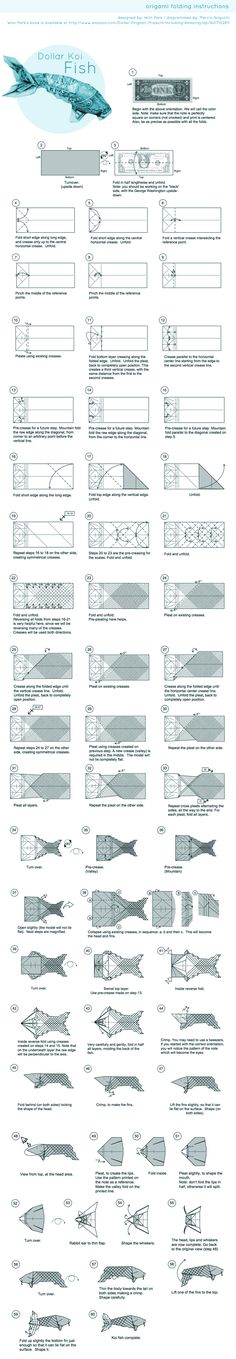 Origami: Fish Koi ( Riccardo Foschi ) - YouTube | 1359x236