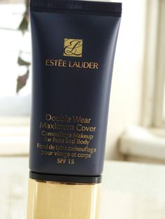 Review of Estee Lauder's Double Wear Maximum Coverage Foundation. The best full-coverage foundation I have tried so far!
