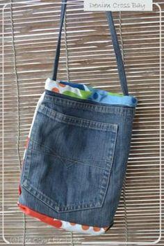 Denim Cross Bag 2