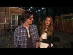 ▶ Ravenswood Winter Finale: Behind The Scenes w/ Tyler Blackburn & Ashley Benson - YouTube
