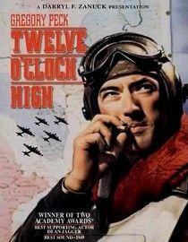 One of the most psychological of the World War II movies: Twelve O'Clock High.