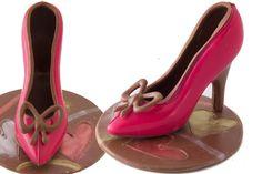 Edible Chocolate Pink Stilettos