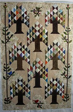 tree of life quilt (this is on my list of quilts to make)