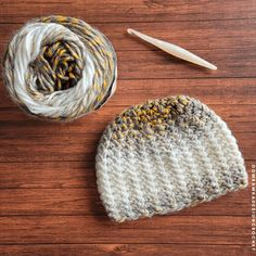 My 2021 Here We Come Hat is my newest pattern and it and is made with only 84 yards of Bulky Weight Yarn [5]. #makeitwithmichaels #yarnspirations #furlscrochet #ODCMakers #caroncakes #hatofthemonth