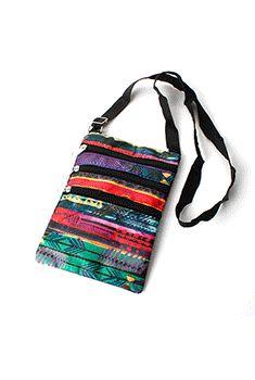 Tribal Painted Crossbody Bag