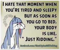 I Hate The Moment When... funny quotes quote jokes lol funny quote funny quotes looney tunes funny sayings bugs bunny humor