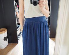 """Ma jupe bohème en lange #homemade #couture #DIY - Blog """"pour mes jolis mômes, mais pas que..."""""""