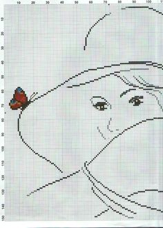 Butterfly on hat   2/3