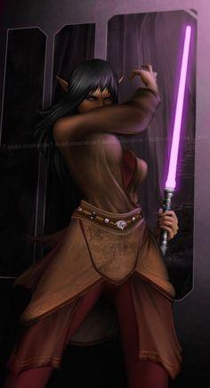 Jedi Fenelan by *Aikurisu on deviantART