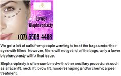 Cosmetic Surgeon Queensland: Lower Blepharoplasty (eyelid surgery) On The Gold ...