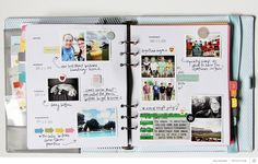 Memory Keeping in a Hello Forever Planner with Lisa Truesdell