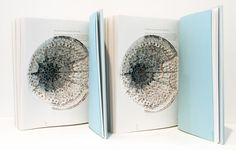 Book and paper sculptures by Noriko Ambe