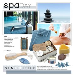 """""""Spa Day"""" by cruzeirodotejo ❤ liked on Polyvore featuring beauty, CB2, red flower, Urban Spa and spaday"""