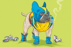 "Dogs of the Marvel Universe by josh lynch"" http://goo.gl/mL8yGv"