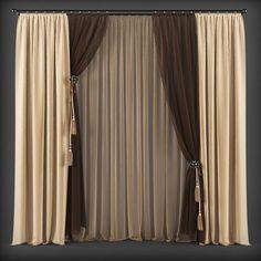 curtain 3d model 139 3d model max obj fbx mtl 1