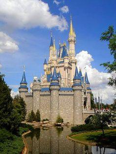 Cinderella Castle, Magic Kingdom, Walt Disney World