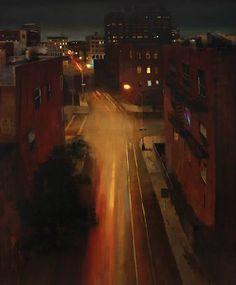 Williamsburg at Midnight by Kim Cogan.