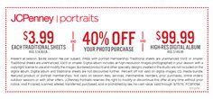 Photography Coupon I Portrait Studio Offers | JCPenney Portraits
