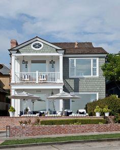 Beach House with Classic Coastal Interiors
