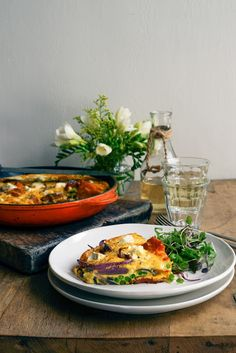 From The Kitchen: Pumpkin, Pea and Chorizo Frittata with Feta and Red Onion