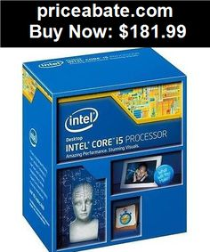 Computer-Parts: Intel Core i5-4460 Haswell Processor 3.2GHz 5.0GT/s 6MB LGA 1150 CPU, Retail - BUY IT NOW ONLY $181.99