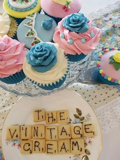 The Very Vintage Tea Party by Kiss And Bake Up, via Flickr